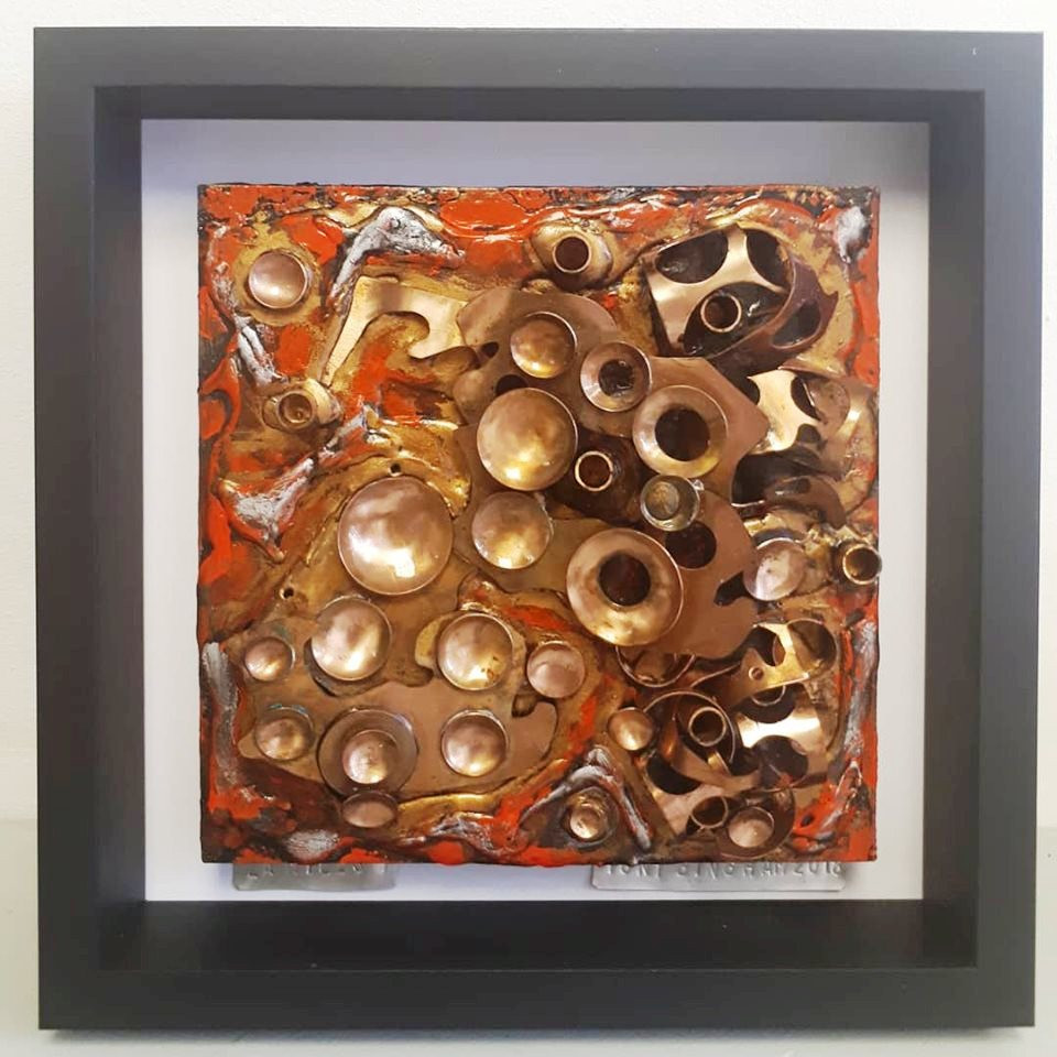 ZA Miles 1, Tony Bingham, a part of the MASA-UK Art Gallery Stand 274 at the Manchester Art Fair this October 11th-13th at Manchester Convention Centre