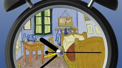 Clock Van Gough Bedroom