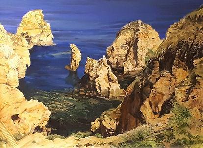 Original art, acrylic on canvas