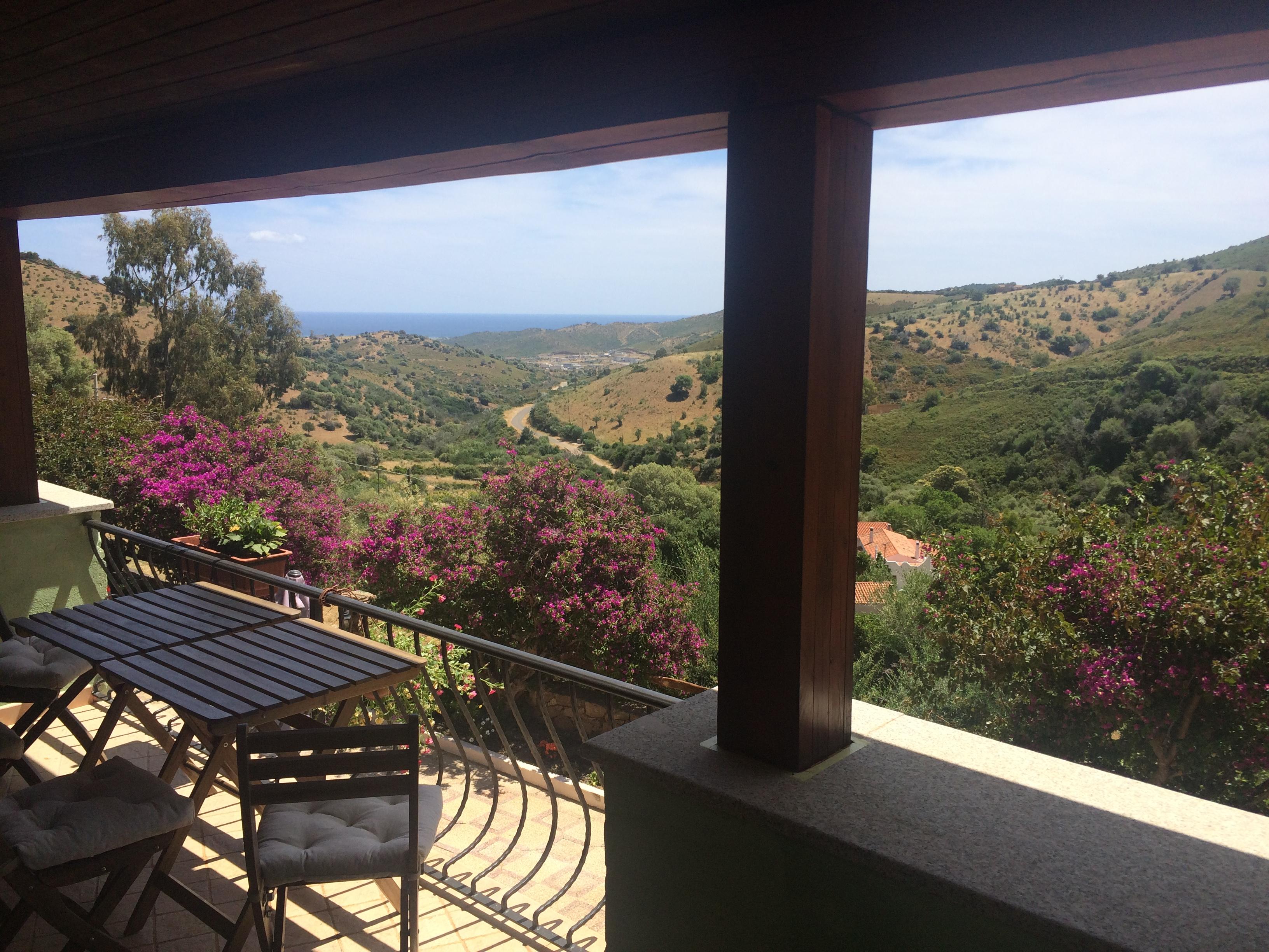 vista mare dalla veranda