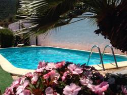 piscina villa mariposa