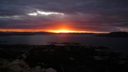 La Maddalena al tramonto