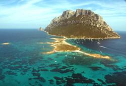 Isola Tavolara panorama