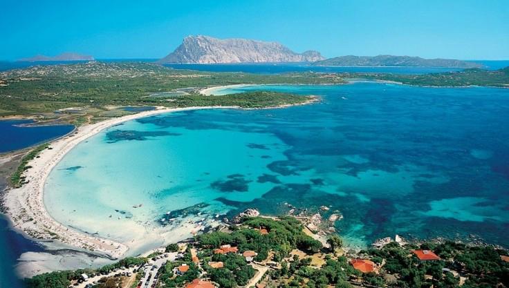 spiaggia La Cinta panoramica