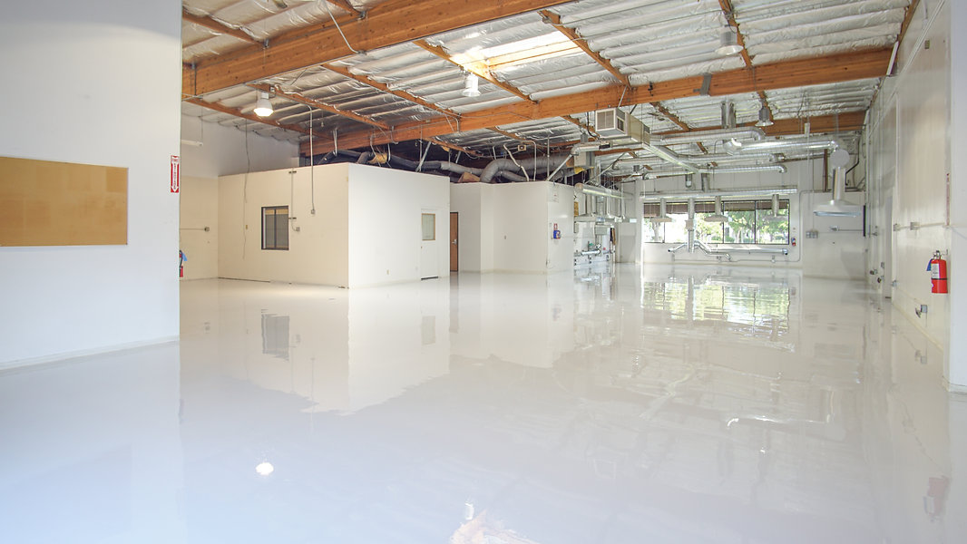 White Epoxy Floors Innovo Builders