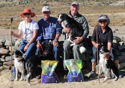 North Cape Trial Prize Winners- Irene Thompson & Eryn, Henry van der Merwe & Lass, Andre van der Mer