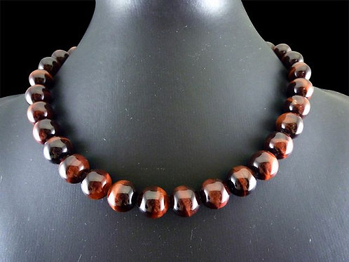 Red Tiger's Eye Necklace