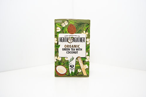 Heath & Heather Green Tea with Coconut