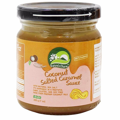Nature's Charm Coconut Salted Caramel Sauce