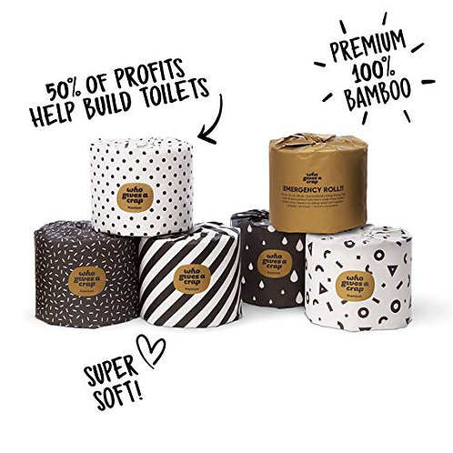 Who Gives a Crap Premium Bamboo Toilet Roll 1pc