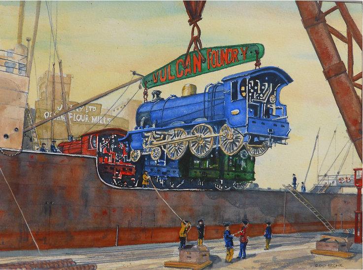 painting train loaders.jpg