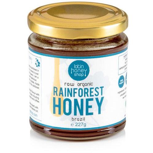 Raw Organic Rainforest Honey From Brazil 227g