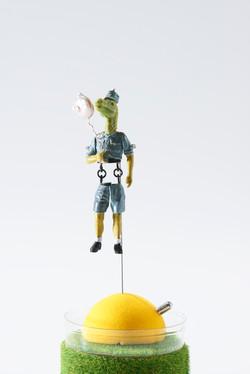 恐竜軍人単体