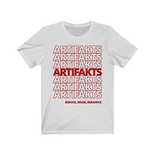 Artifakts Resample Short Sleeve Tee [White/Red]