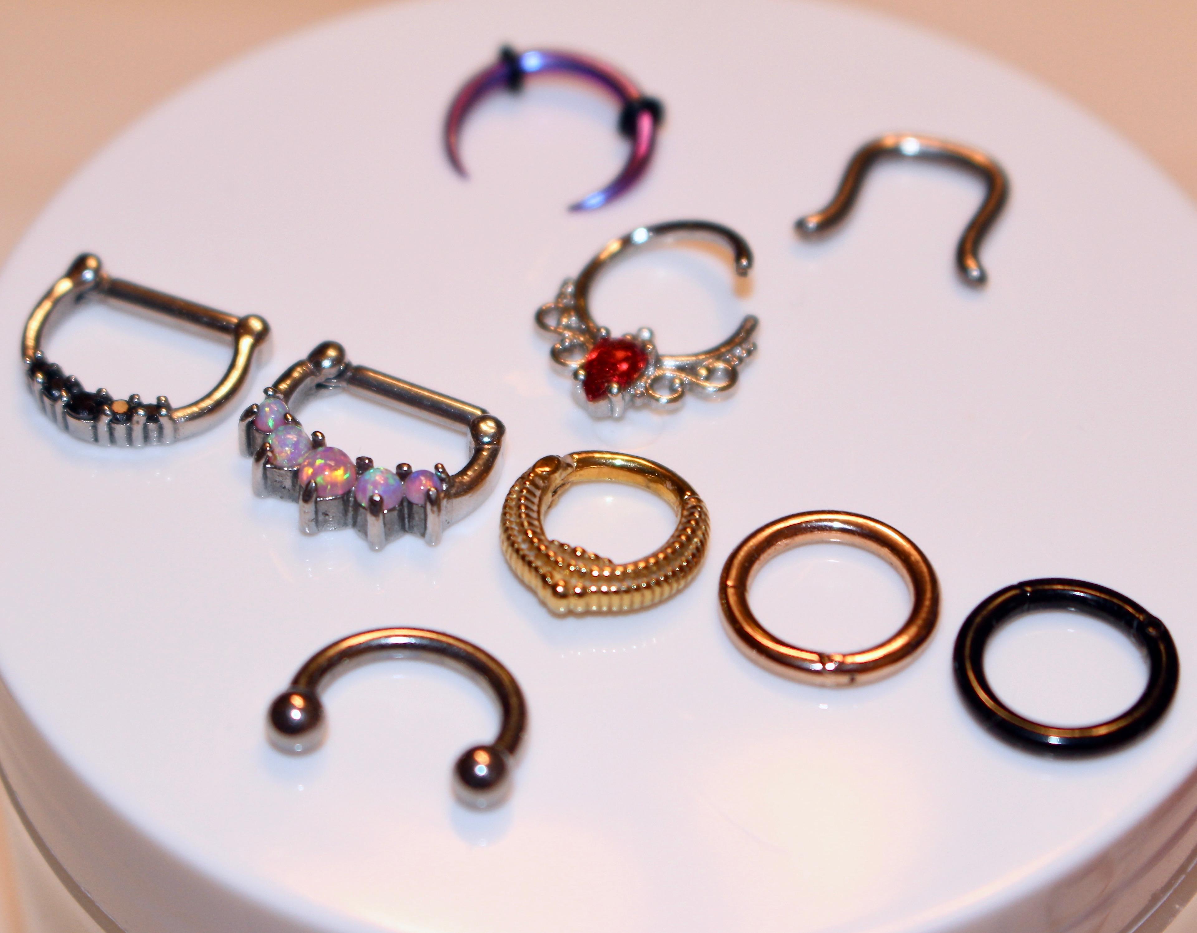 My Septum Jewelry