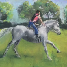 Uphill Gallop - sold