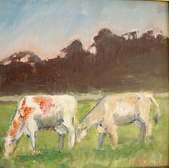 Pasture Peace - framed
