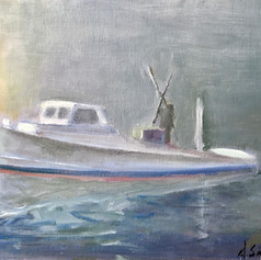 Chesapeake Oyster Tonger