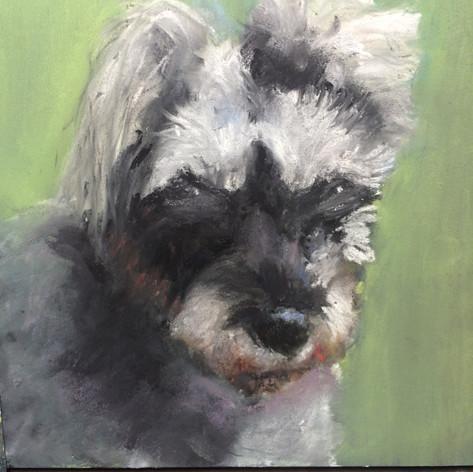 Portrait of a friend...sold
