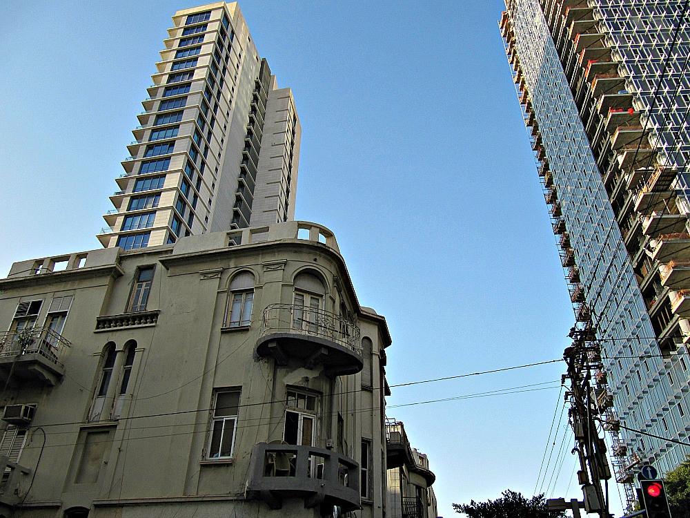 Allenby Street in Tel Aviv