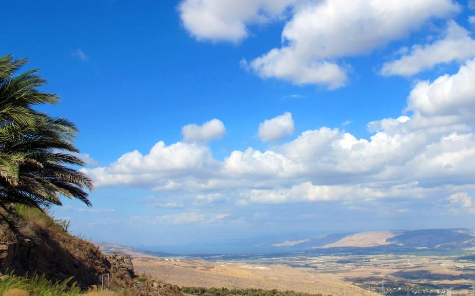 Jordan Valley View from Kokhav HaYarden