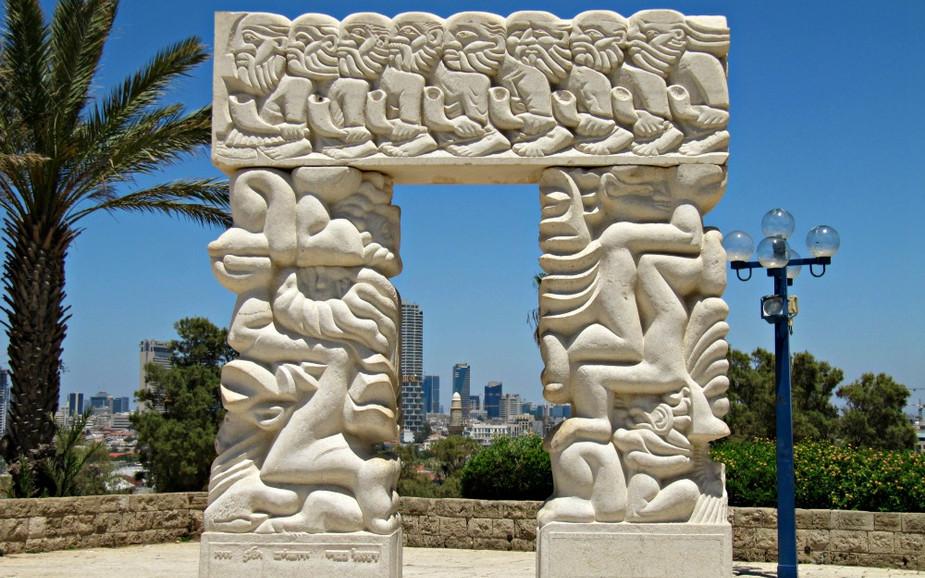 HaPisga Garden in Jaffa - Gate of Faith
