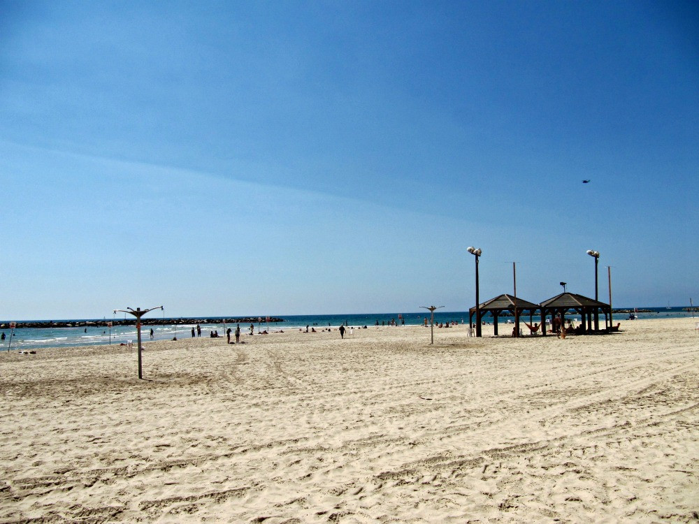 Beaches in Tel Aviv