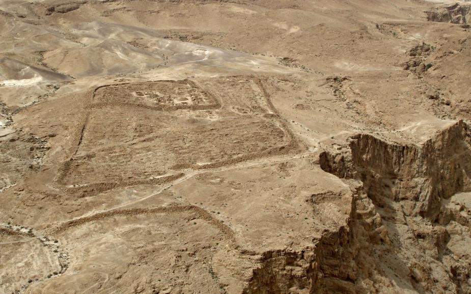 Roman Siege Site - Masada
