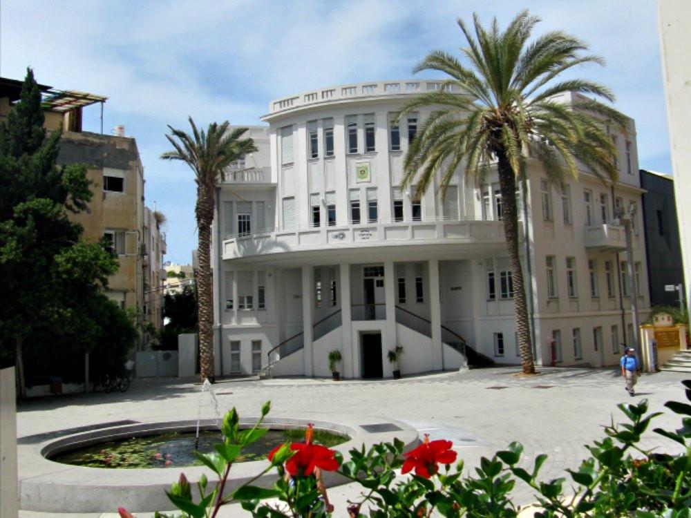 Old City Hall in Tel Aviv - Beit HaIr