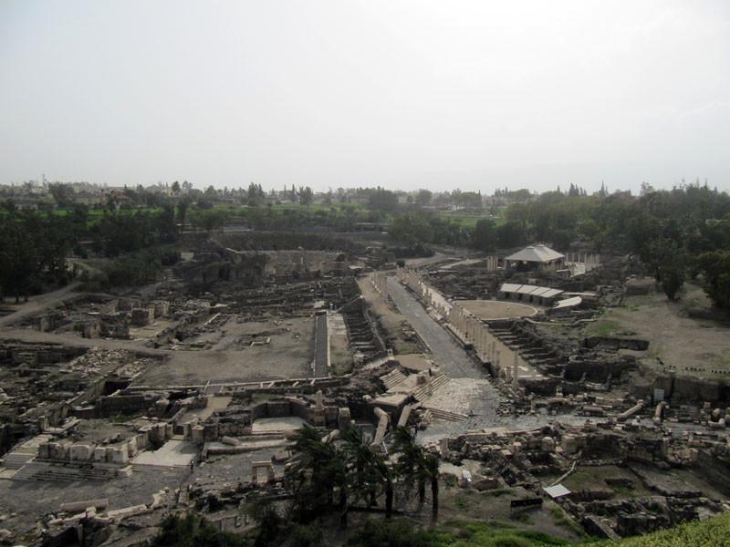 Bet Shean - view