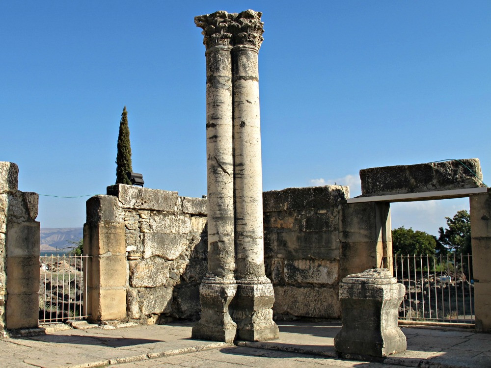 Capernaum - Kfar Nahum National Park - 4th century Synagogue