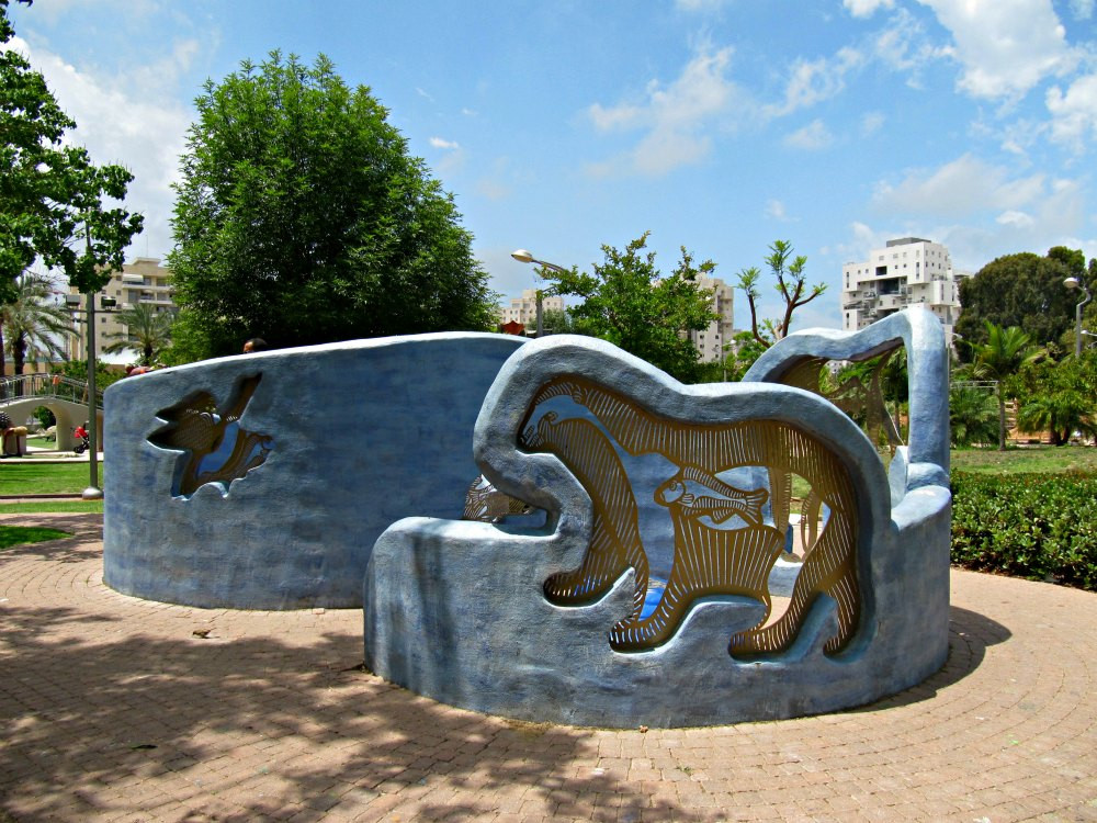 Story: A Fish that didn't want to be a Fish - at Story Garden in Holon