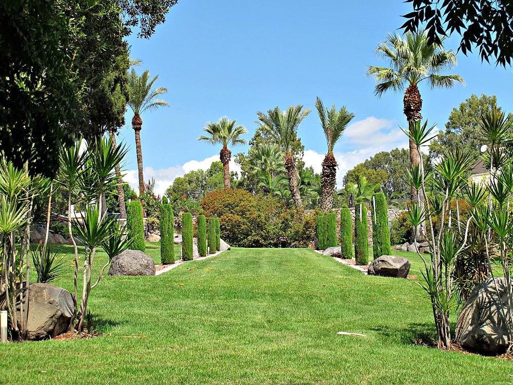 Garden in Mount of Beautitudes