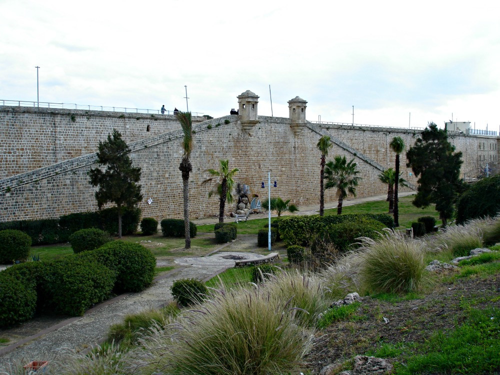 Old City Wall in Acre