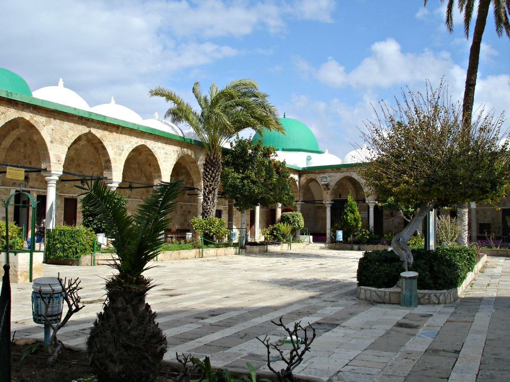 Al-Jazzar Mosque in Acre