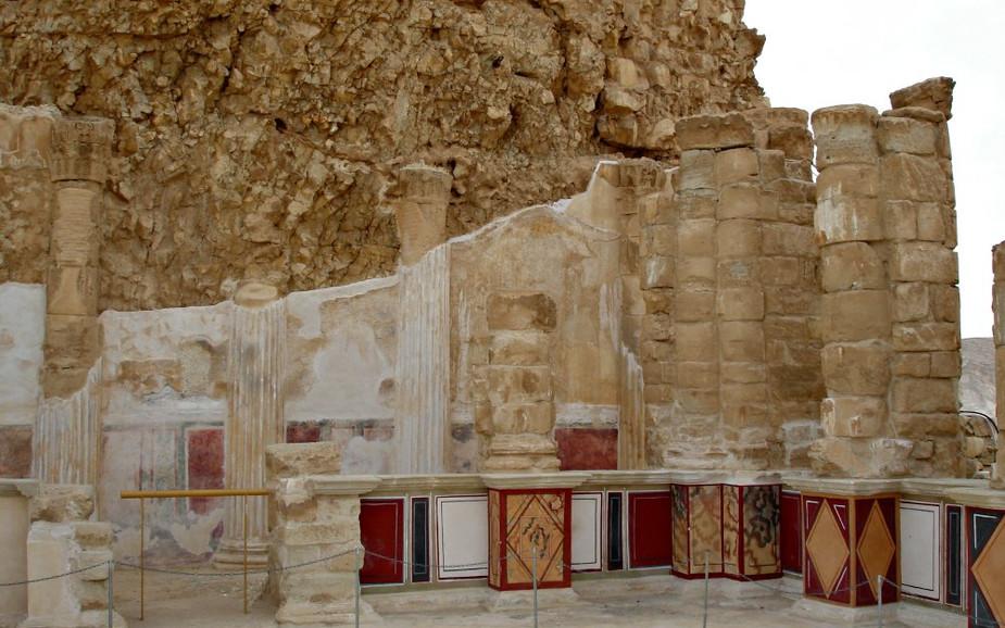 Northern Palace Lower Terrace - Masada