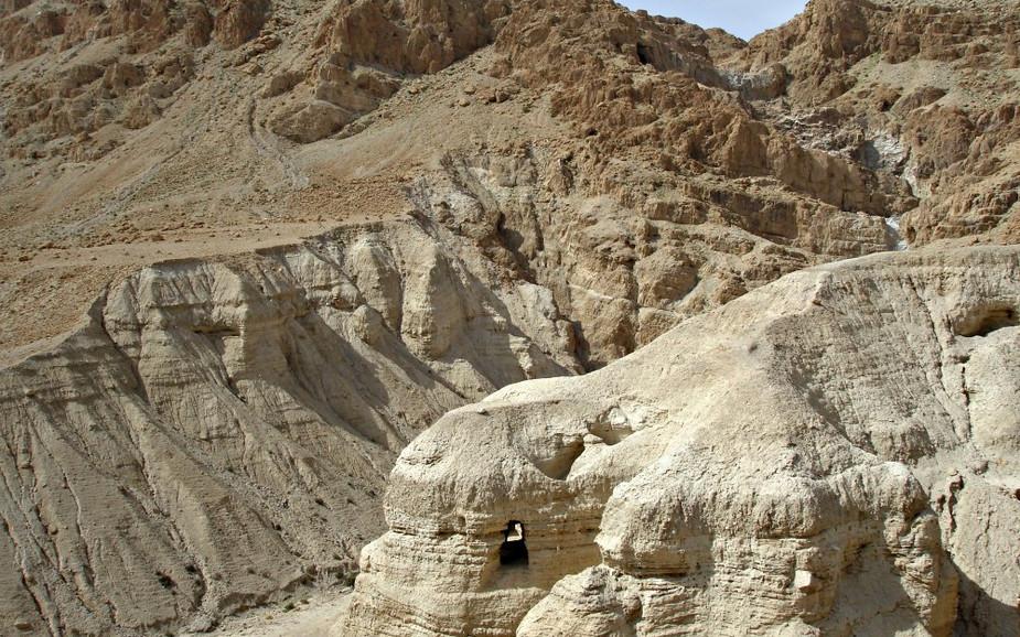 Caves at Qumran National Park