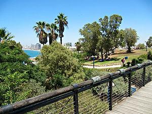 HaPisga Garden in Jaffa