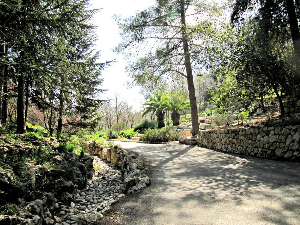 Botanical Garden in Jerusalem