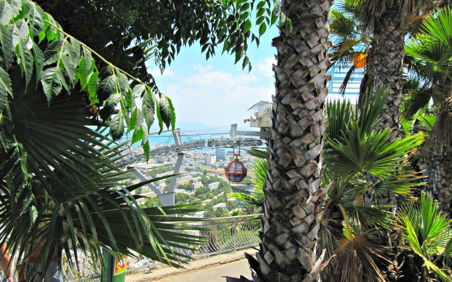 Cable Car in Haifa