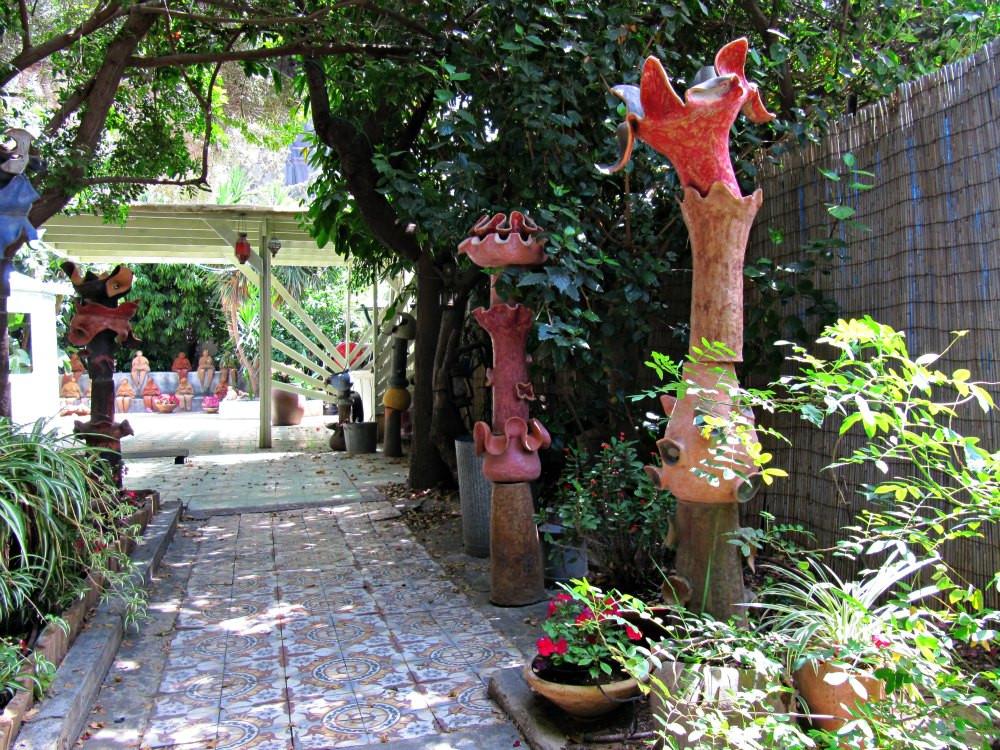 Garden of Rockach House