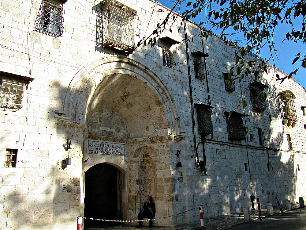 Old City of Jerusalem - Armenian Quarter - Armenian Patriarchate