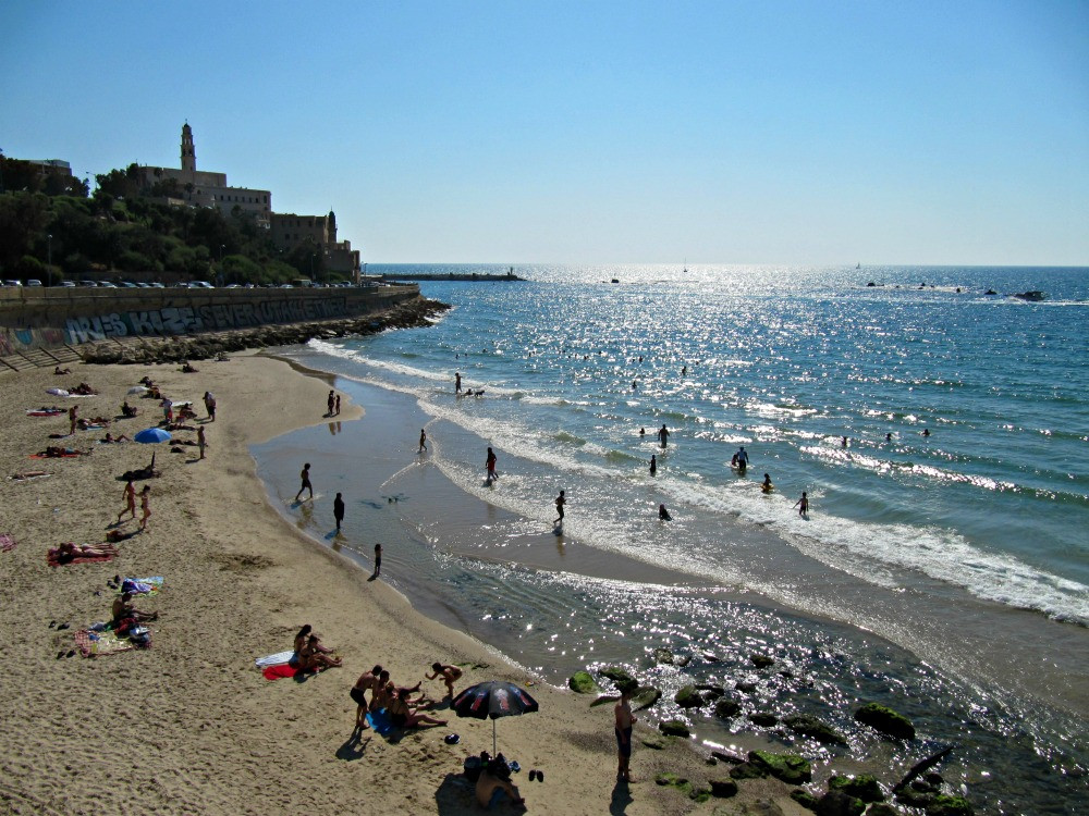Beaches in Tel Aviv