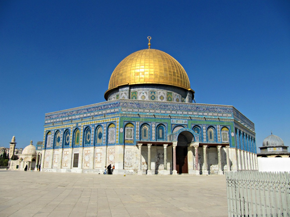 Dome of the Rock and Al Aksa Mosque