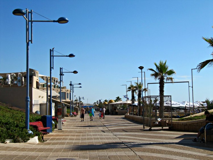 Promenade at Rishon LeZion Beach