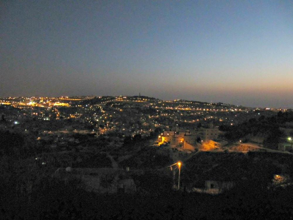 Armon HaNatziv Promenade - View in the Valley