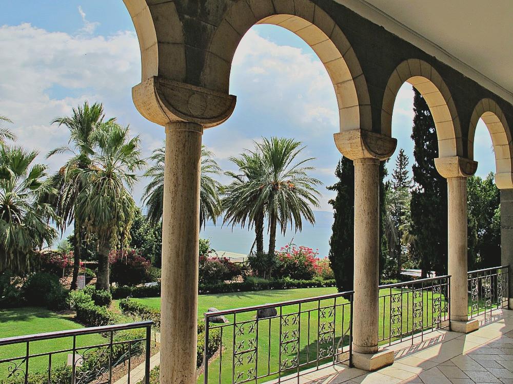 Garden of Mount of Beautitudes