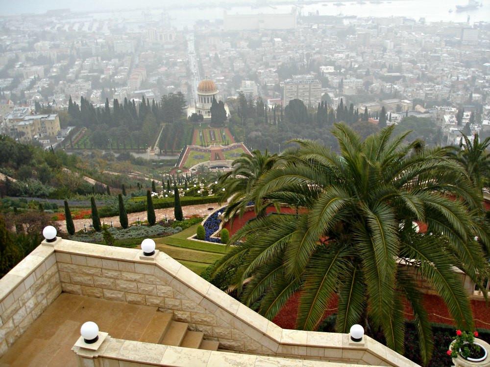 Bahai Garden in Haifa