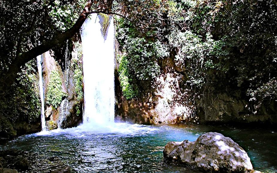 Waterfall at Hermon Stream - Banias