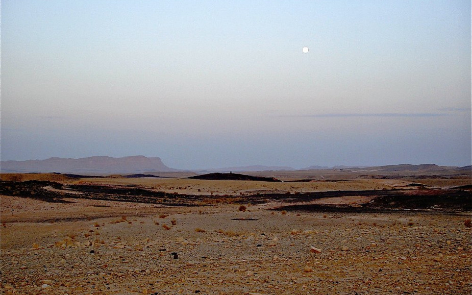 Walk in the Ramon Crater